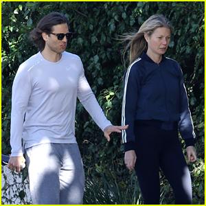 Gwyneth Paltrow & Husband Brad Falchuk Take Stroll On Sunny Friday Afternoon