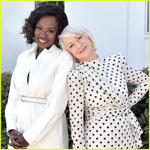 Helen Mirren & Viola Davis Team Up To Promote L'Oreal Paris's Age Perfection Collection