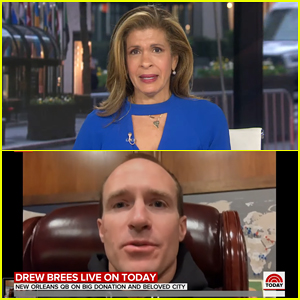 Hoda Kotb Breaks Down After Reporting on Coronavirus Impact with Drew Brees in New Orleans on 'Today' (Video)