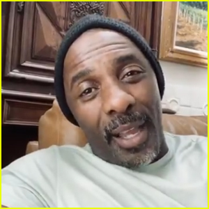 Idris Elba Says He's Past the Quarantine Period, But Still Can't Go Home - Watch! (Video)