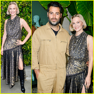 January Jones Gets Glammed Up for Children's Hospital Los Angeles Make March Matter Fundraising Campaign!