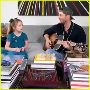 Jensen Ackles Sings With Daughter JJ During Self Quarantine - Watch!