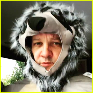 Jeremy Renner Dresses Up in a Sloth Onesie During Quarantine