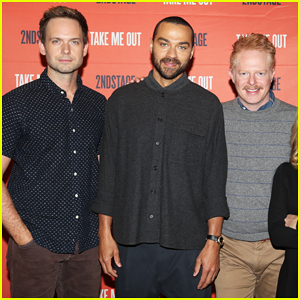 Jesse Williams, Patrick J. Adams & Jesse Tyler Ferguson Team Up for 'Take Me Out' Preview!