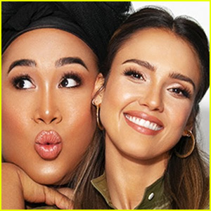 Jessica Alba Trades Makeup Looks With Patrick Starrr in YouTube Debut - Watch! (Video)