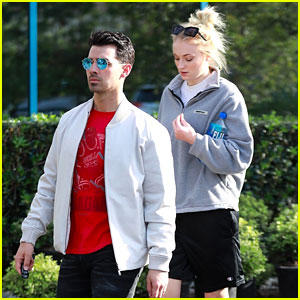 Sophie Turner Steps Out in Sweats During Casual Outing with Joe Jonas