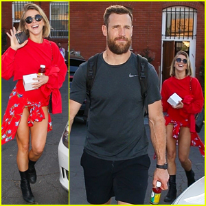 Julianne Hough & Brooks Laich Emerge Together Amid Rumors About Their Relationship