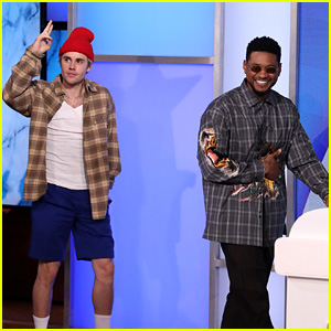 Justin Bieber & Usher Reveal Secrets About Themselves on 'Ellen' - Watch!