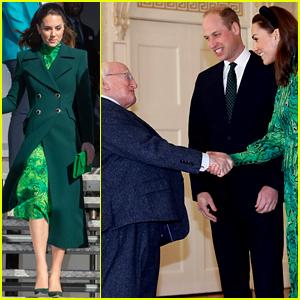 Prince William & Duchess Kate Middleton Arrive in Dublin & Meet Ireland's President!