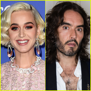 Here's What Russell Brand Said About Ex Wife Katy Perry On Stage