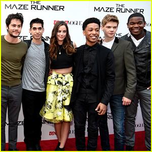 Dylan O'Brien, Kaya Scodelario & 'Maze Runner' Cast Reunite on Zoom During Quarantine