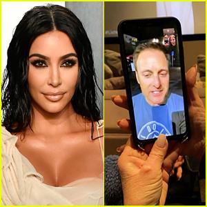 Kim Kardashian FaceTimes with Chris Harrison After 'Bachelor' Finale