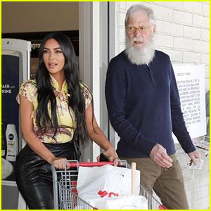 Kim Kardashian Went to CVS with... David Letterman?! See Pics!
