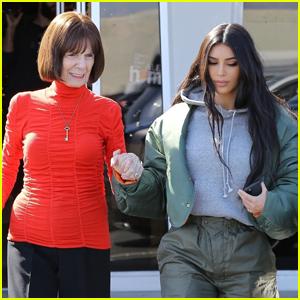 Kim Kardashian Reveals Grandma MJ Has Been Self-Quarantined for 'Over a Month Now'