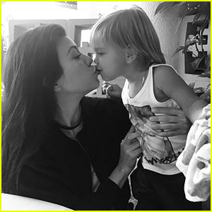 Kourtney Kardashian Responds to Critics of Her Kissing Her Kids on the Lips