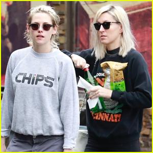 Kristen Stewart & Girlfriend Dylan Meyer Go for Snack Run in Los Feliz