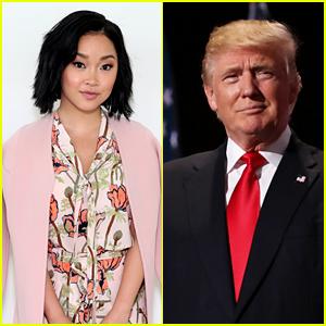Lana Condor Condemns Donald Trump for Racist 'Chinese Virus' Rhetoric