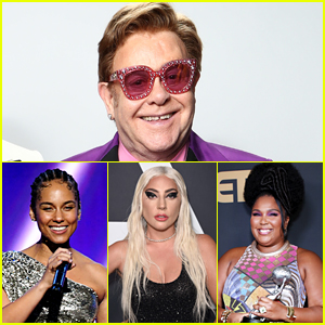 Elton John's 'Living Room Concert' - Full Celebrity Lineup Revealed!