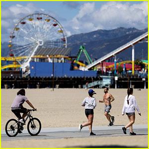 Los Angeles Shuts Down All Beaches, Trails, & Bike Paths Amid the Health Crisis