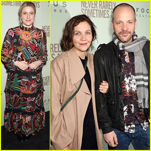 Great Gerwig & Maggie Gyllenhaal Support Young Stars at 'Never Rarely Sometimes Always' Premiere