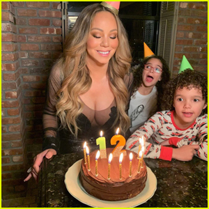 Mariah Carey Celebrates 50th Birthday with Her Kids, Calls Herself 'Eternally 12'