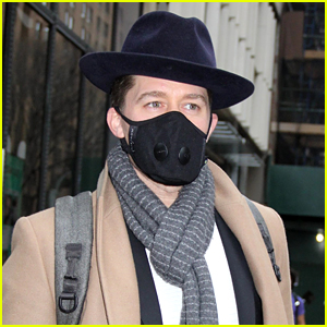Matthew Morrison Steps Out in NYC Wearing a Mask, Cancels Concert Due to Coronavirus Fears
