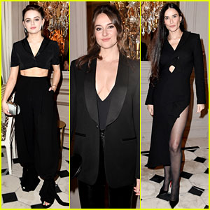Joey King, Shailene Woodley, & More Attend the Monot Show in Paris
