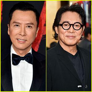 Donnie Yen, Jet Li, & More 'Mulan' Stars Step Out for L.A. Premiere