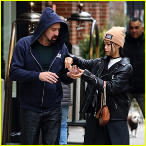 Nicolas Cage & New Girlfriend Riko Shibata Share Hand Sanitizer While Strolling in NYC Amid Coronavirus Outbreak