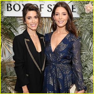 Nikki Reed & Ashley Greene Have Mini 'Twilight' Reunion at Rachel Zoe's Spring Box of Style Launch!