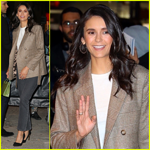 Nina Dobrev Emphasizes The Importance of Voting While Promoting New Movie 'Run This Town'
