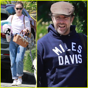 Olivia Wilde & Jason Sudeikis Head Out on Family Picnic