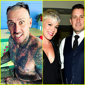 Pink Shaves Her Husband Carey Hart's Head: 'We've Lost It'