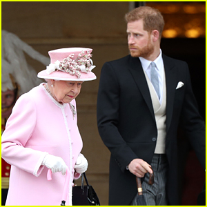 Queen Elizabeth & Prince Harry Reunited for First Time Since His Move to Canada