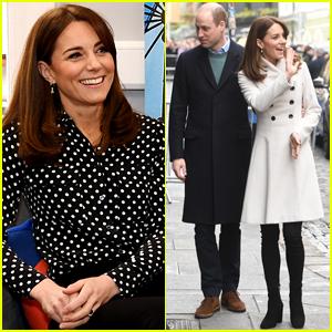 Duchess Kate Middleton & Prince William Kick Off Day 2 of Ireland Tour