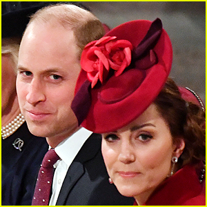 Here's What Prince William Whispered to Duchess Kate Middleton at Commonwealth Services