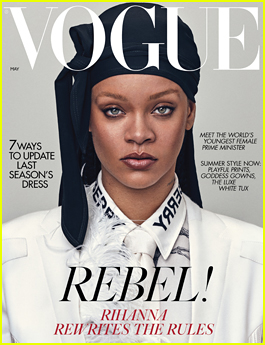 Rihanna Tells 'British Vogue' She's 'Very Aggressively Working On Music'!
