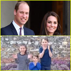 Prince George, Princess Charlotte, & Prince Louis Applaud Healthcare Workers in New Video