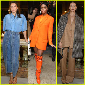 Shailene Woodley, Caitriona Balfe, & More Stars Attend the Stella McCartney Fashion Show