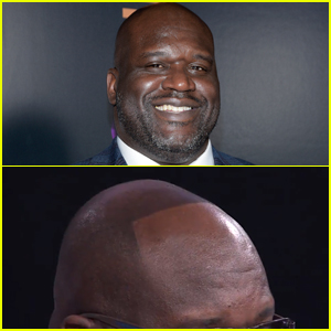 Shaquille O'Neal Debuts His Real Hairline After Losing a Bet & It Goes Viral!