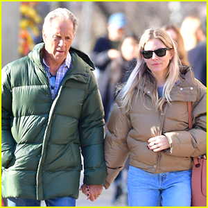 Sienna Miller Takes NYC Stroll With Dad Edwin