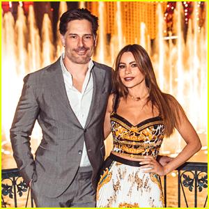 Sofia Vergara & Joe Manganiello Enjoy Vegas Party After She Joins 'AGT'