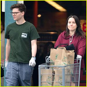 Sophia Bush Shops for Groceries with Her Quarantine Buddy, Singer Kevin Garrett!