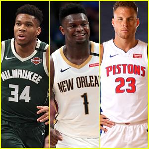 Basketball Stars Giannis Antetokounmpo, Zion Williamson & Blake Griffin Donate Wages To Arena Employees After NBA Season Suspension