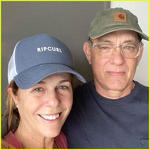 Tom Hanks & Rita Wilson Share a Selfie from Isolation While Battling Coronavirus