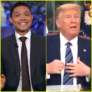 Trevor Noah Mocks Trump for the Outtakes from His Coronavirus Address - Watch the Bloopers!