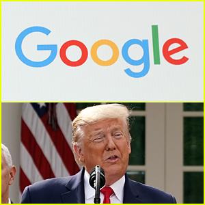 Google Isn't Developing A Coronavirus Testing Site, Despite Donald Trump's Claims
