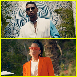Usher & Ella Mai Live It Up 'Don't Waste My Time' Music Video!