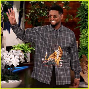 Usher Teases a New Album on 'Ellen' - Watch! (Video)