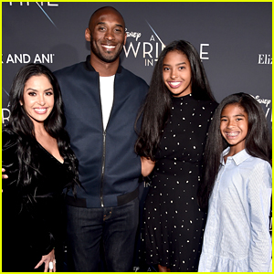 Vanessa Bryant Shares Touching Pic Of Daughter Natalia In Front Of Kobe & Gianna's Mural